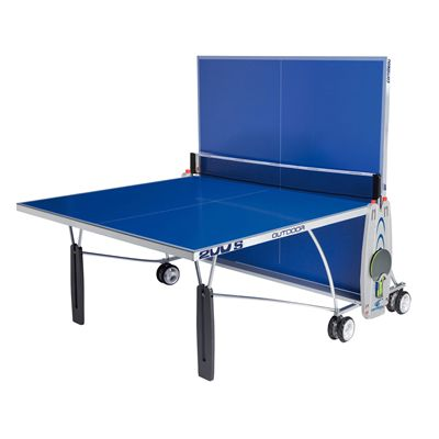 Cornilleau Sport 200S Rollaway Outdoor Table Tennis Table - Playback