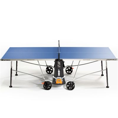 Cornilleau Sport 250S Crossover 5mm Table Tennis Table-Blue-Side