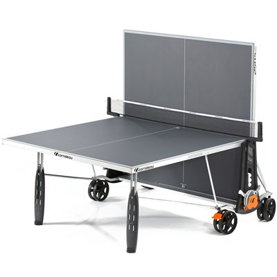 Cornilleau Sport 250S Crossover 5mm Table Tennis Table-Grey-Playback