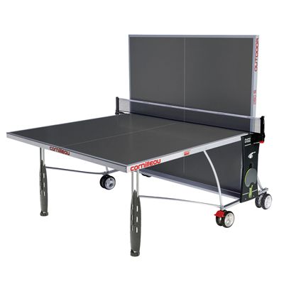Cornilleau Sport 250S Rollaway Outdoor Table Tennis Table 2014 - Grey - Playback