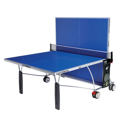 Cornilleau Sport 250S Rollaway Outdoor Table Tennis Table - Playback