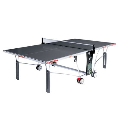 Cornilleau Sport 250S Rollaway Outdoor Table Tennis Table - Grey