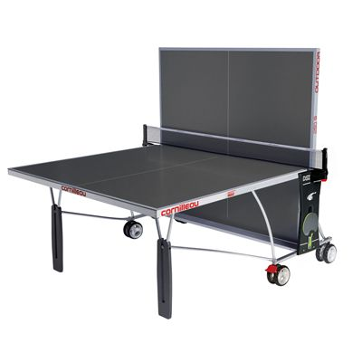 Cornilleau Sport 250S Rollaway Outdoor Table Tennis Table - Grey - Playback