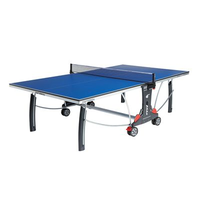 Cornilleau Sport 300 Rollaway Blue 19mm Indoor Table Tennis Table