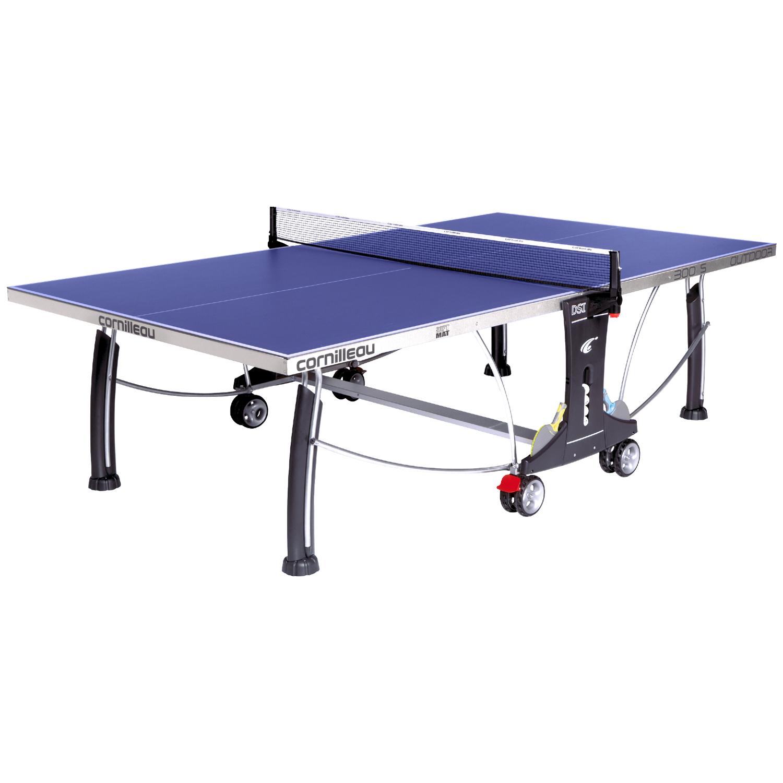 Cornilleau sport 500 rollaway blue 22mm indoor table - Table tennis de table cornilleau outdoor ...