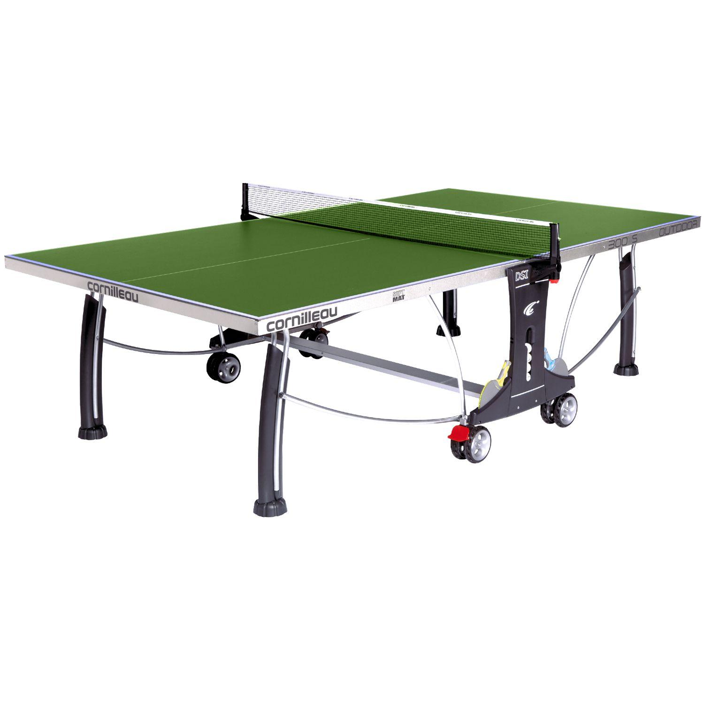 Cornilleau sport 300s rollaway outdoor table tennis table - Cornilleau outdoor table tennis cover ...
