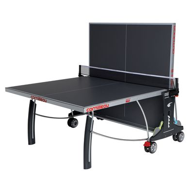Cornilleau Sport 300S Rollaway Outdoor Table Tennis Table - Grey - Playback