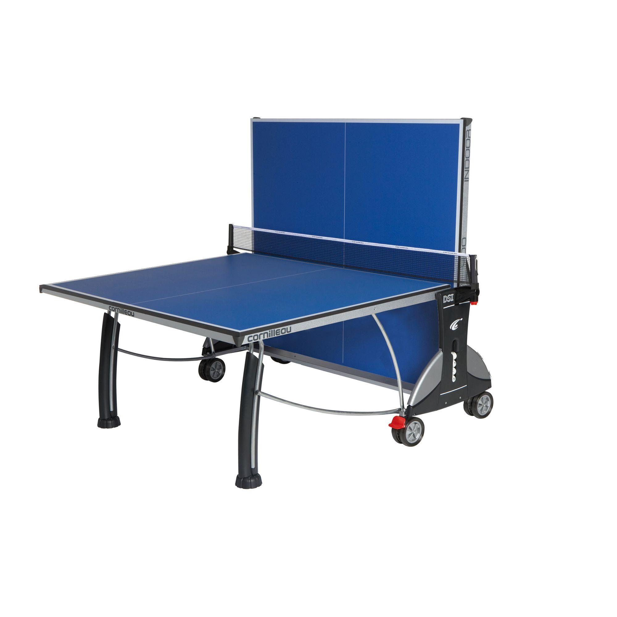 Cornilleau sport 400 rollaway indoor table tennis table - Table tennis de table cornilleau outdoor ...