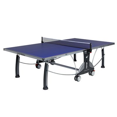 Cornilleau Sport 400M Rollaway 6mm Outdoor Table Tennis Table - Blue