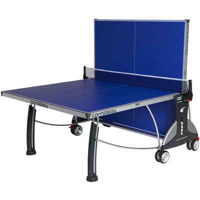 Cornilleau Sport 400M Rollaway 6mm Outdoor Table Tennis Table - Blue Playback Position