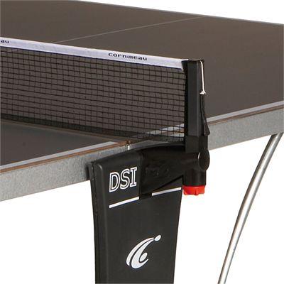 Cornilleau Sport 400M Rollaway 6mm Outdoor Table Tennis Table - Grey Net Post Assembly