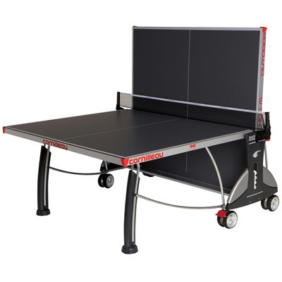 Cornilleau Sport 400M Rollaway 6mm Outdoor Table Tennis Table - Grey Playback Position