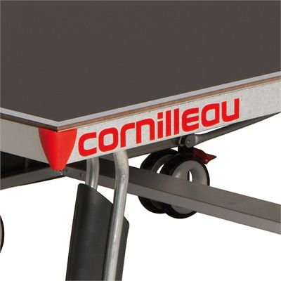 Cornilleau Sport 400M Rollaway 6mm Outdoor Table Tennis Table - Grey Playing Surface