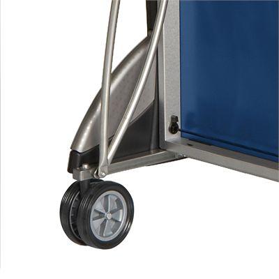 Cornilleau Sport 500 Rollaway Blue 22mm Indoor Table Tennis Table - Folded