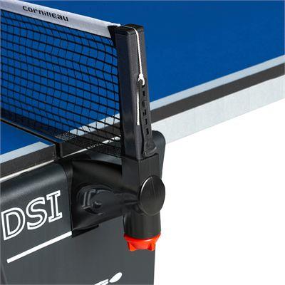 Cornilleau Sport 500 Rollaway Blue 22mm Indoor Table Tennis Table - Net Post