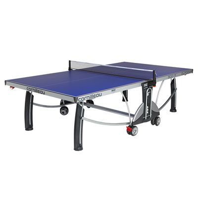 Cornilleau Sport 500M Rollaway 7mm Outdoor Table Tennis Table - Blue