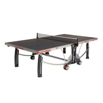 Cornilleau Sport 500M Rollaway 7mm Outdoor Table Tennis Table - Grey