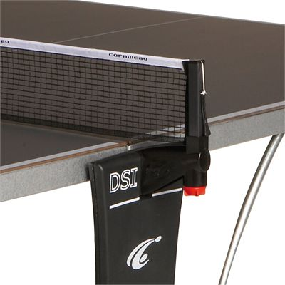 Cornilleau Sport 500M Rollaway 7mm Outdoor Table Tennis Table - Grey Net Post Assembly
