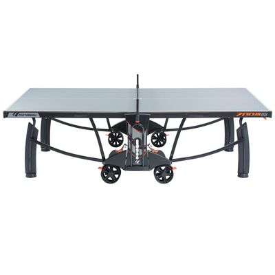 Cornilleau Sport 700M Crossover Rollaway Outdoor Table Tennis Table - Profile