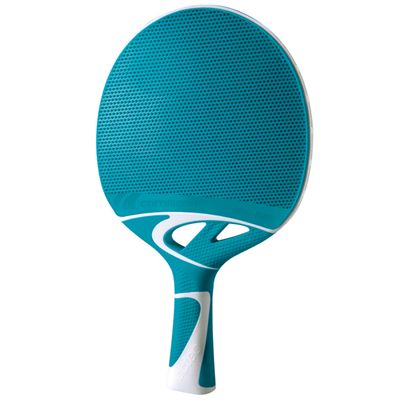 Cornilleau Tacteo 50 Composite Table Tennis Bat - Turquoise Bat