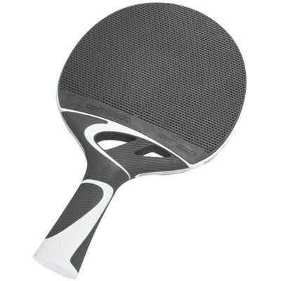 Cornilleau Tacteo 50 Composite Table Tennis Bat-grey-flat