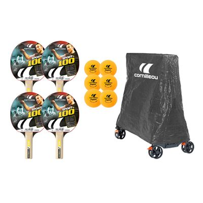 Cornilleau Tectonic Tecto 50 Rollaway Outdoor Table Tennis Table Accessory Pack