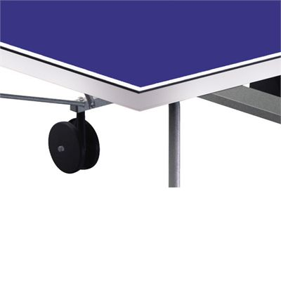 Cornilleau Tectonic Tecto 50 Rollaway Outdoor Table Tennis Table Corner
