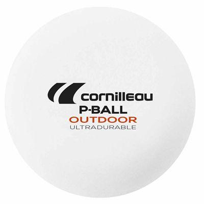 Cornilleau Ultradurable Plastic Outdoor Table Tennis Balls - Pack of 6 - Ball