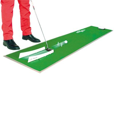 CS2 Ian Poulter Golf Putting Mat-In Use