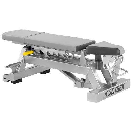 Cybex Big Iron Adjustable Dumbbell Bench Sweatband Com