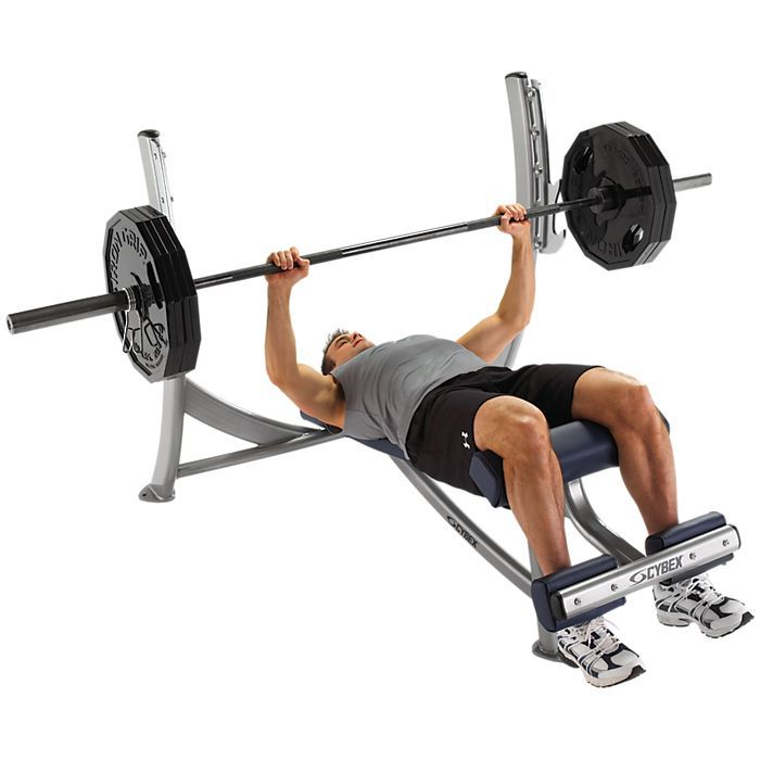 Free Weights Bench: Cybex Free Weights Olympic Decline Bench