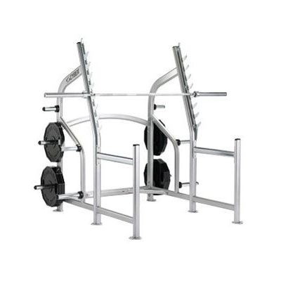 Cybex Squat Rack With Fixed Stops Another view