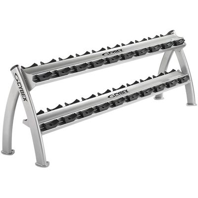 Cybex Twin Tier Dumbbell Rack