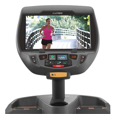 Cybex 625AT Total Body Arc Trainer with E3 View Embedded Monitor - Console
