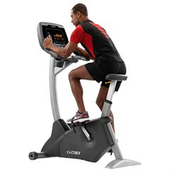 Cybex 625C Upright Exercise Bike with E3 View Embedded Monitor