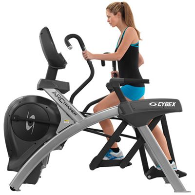 Cybex 770AT Total Body Arc Trainer with E3 View Embedded Monitor - In use
