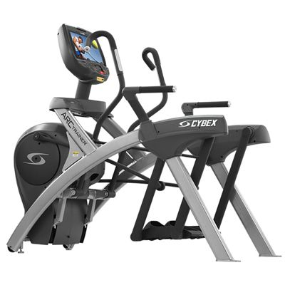 Cybex 770AT Total Body Arc Trainer with E3 View Embedded Monitor