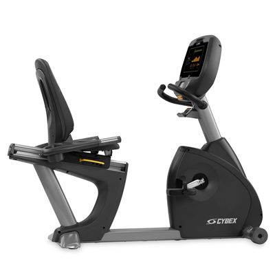 Cybex 770R Recumbent Bike - Side View