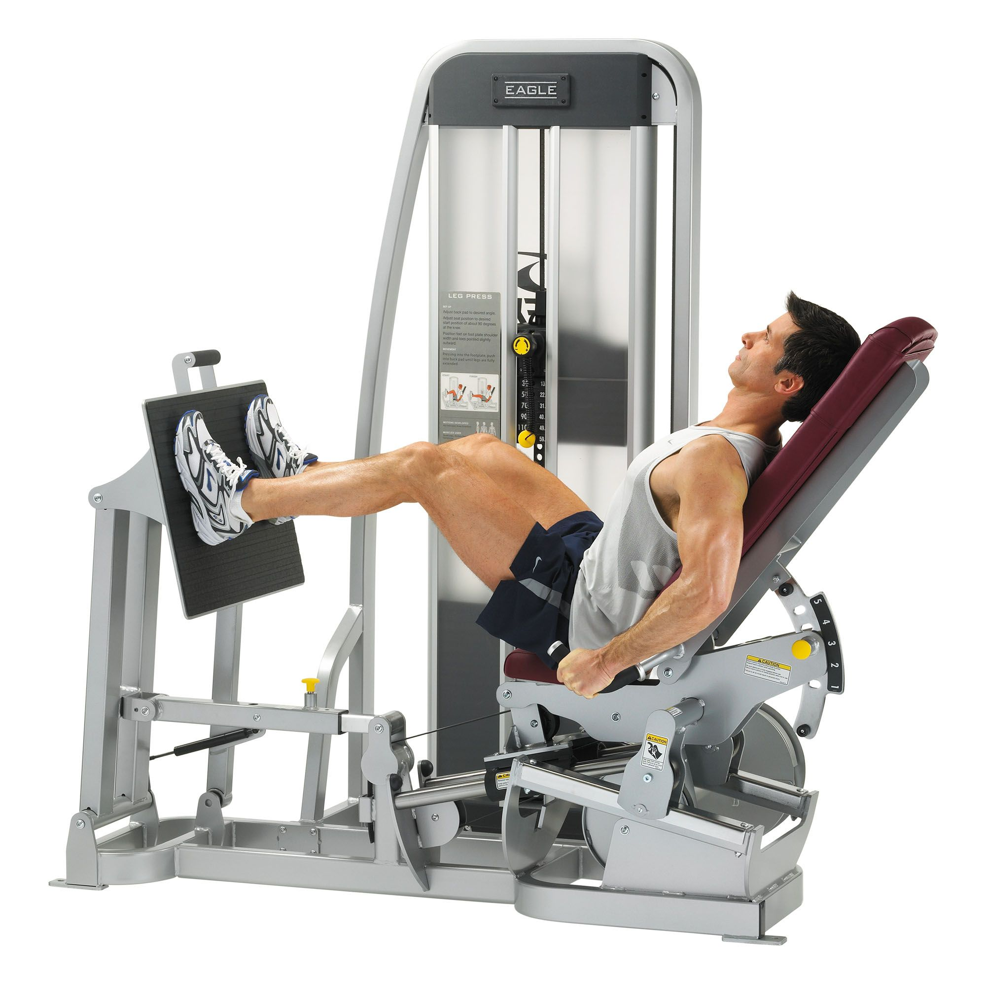 Cybex Eagle Leg Press - Sweatband.com