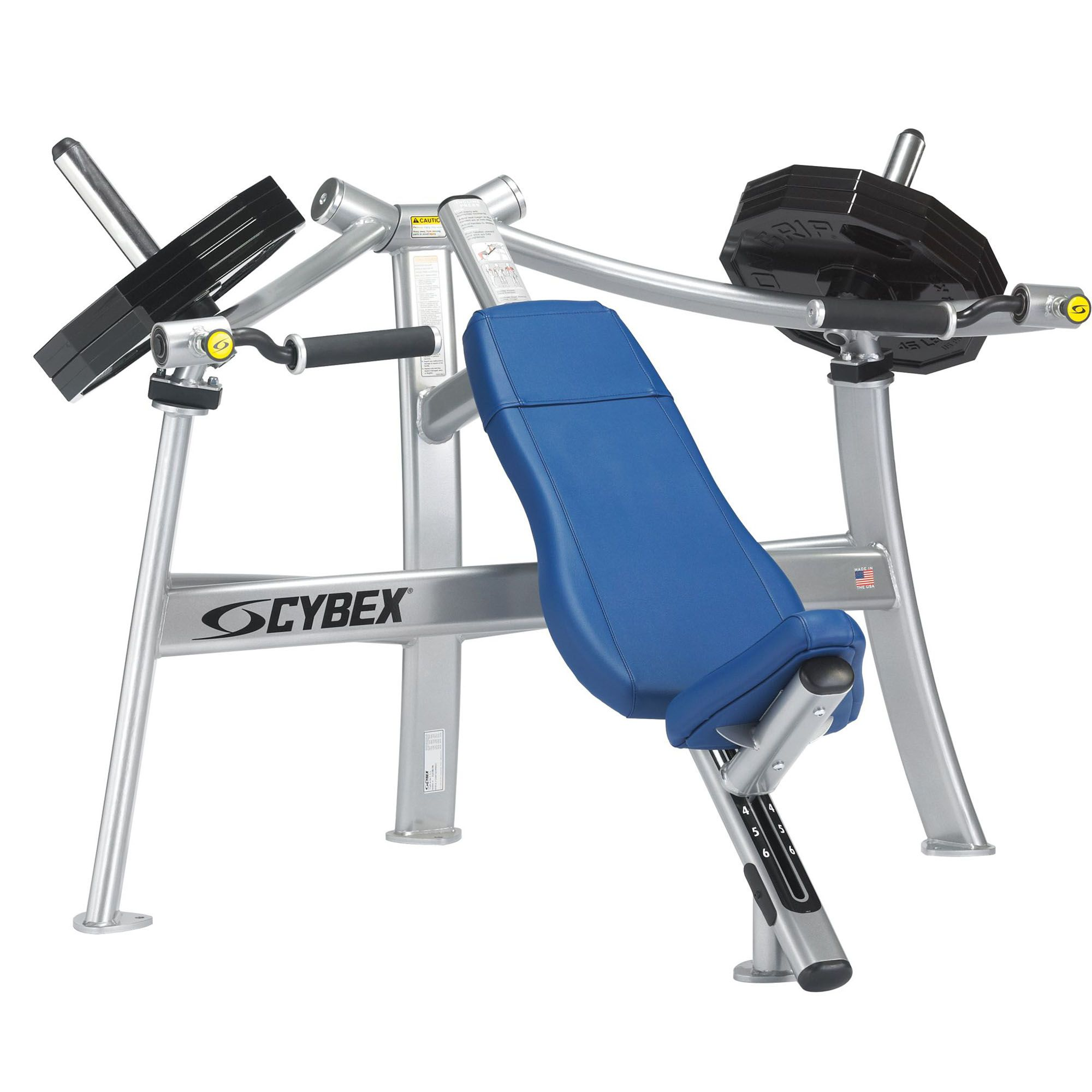 machine incline press