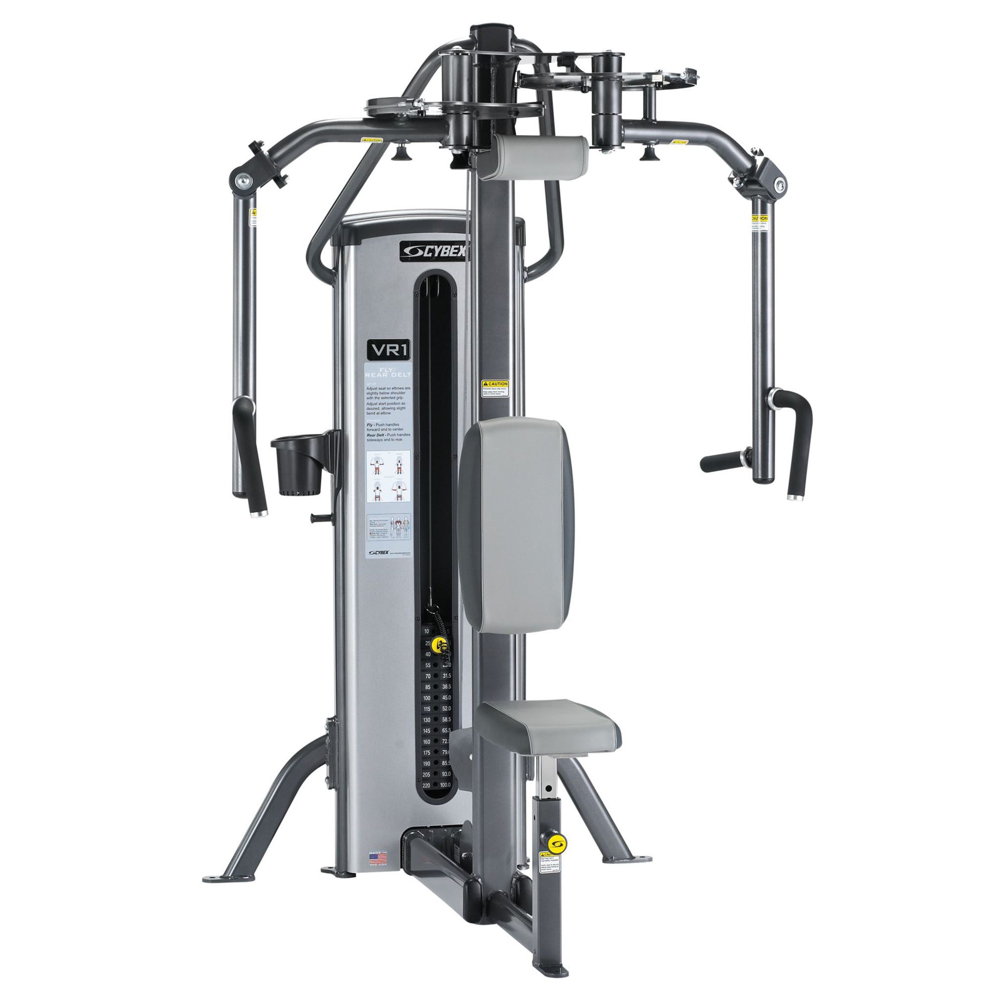 Cybex VR1 Duals Fly and Rear Delt