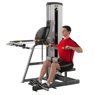 Cybex VR1 Duals Lat and Row In Use
