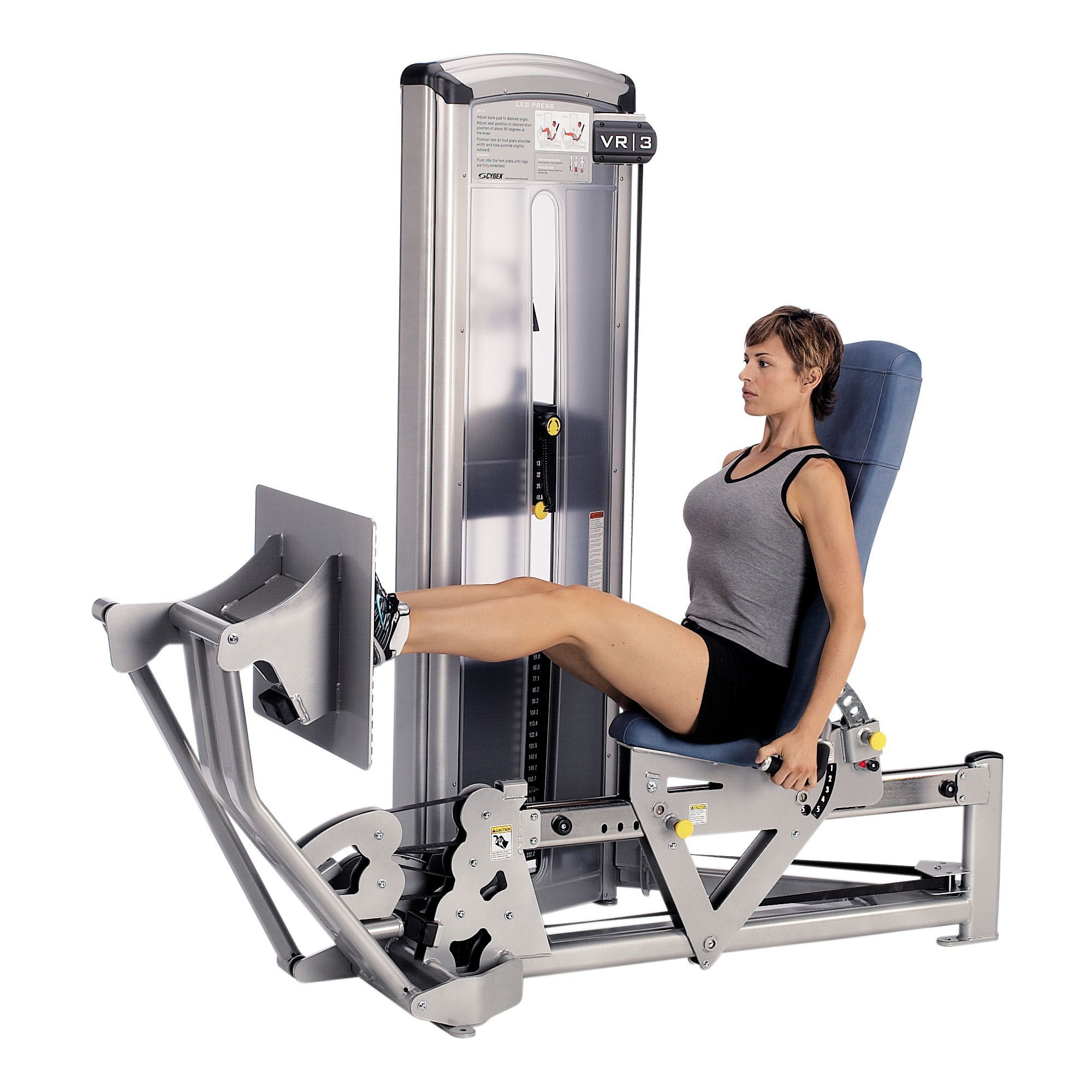 Gym Equipment Legs: Cybex VR3 Seated Leg Press