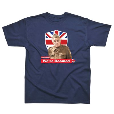 Dads Army We are Doomed T-Shirt