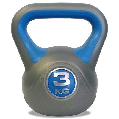 DKN 3 kg vinyl kettlebell