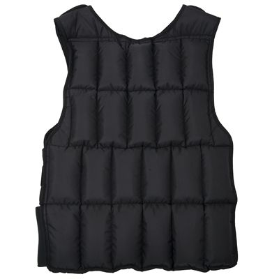 DKN 20kg Adjustable Weighted Vest - Back