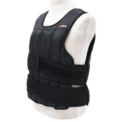 DKN 20kg Adjustable Weighted Vest - In Use