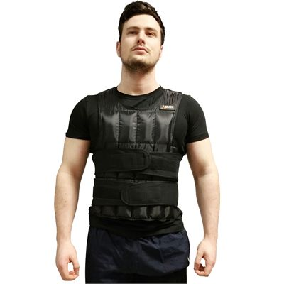 DKN 20kg Adjustable Weighted Vest - Main