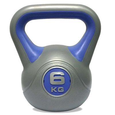 DKN 2, 4, 6, 8 and 10kg Vinyl Kettlebell Weight Set - 6kg