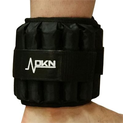 DKN 2 x 5kg Adjustable Ankle Weights - In Use